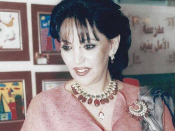 الشيخة سلوى زوجة أمير الكويت الشيخ صباح الأحمد