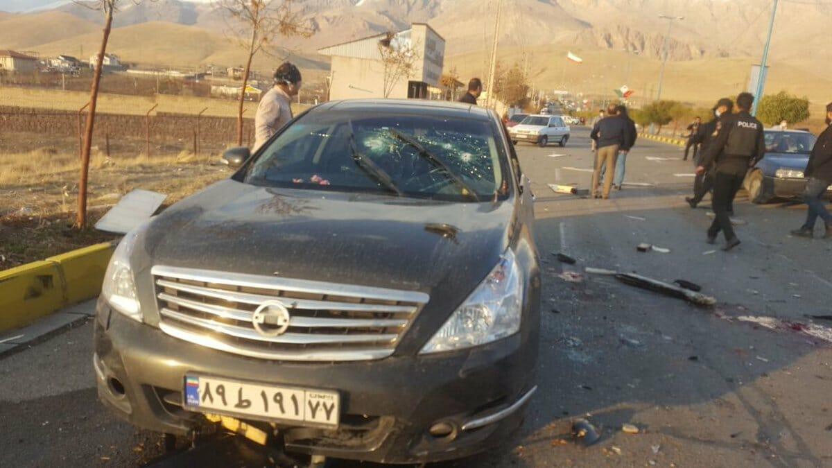 اغتيال العالم النووي الإيراني محسن فخري زادة
