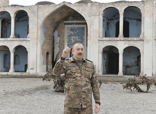 رئيس أذربيجان إلهام علييف