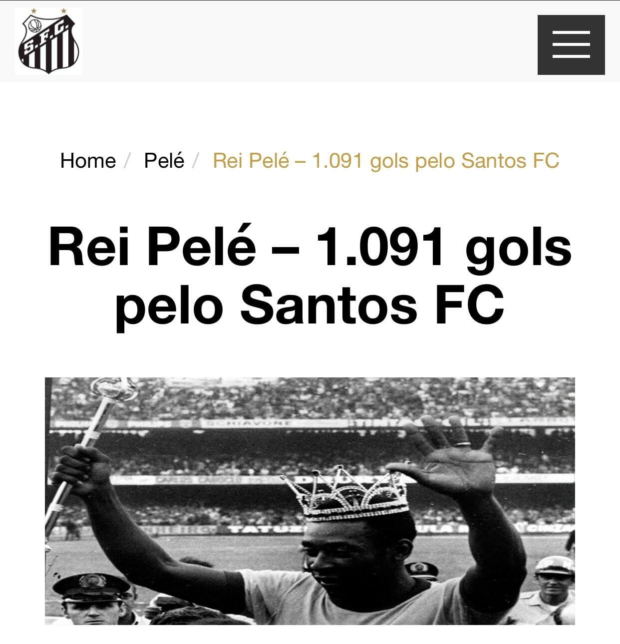 بيان نادي سانتوس البرازيلي