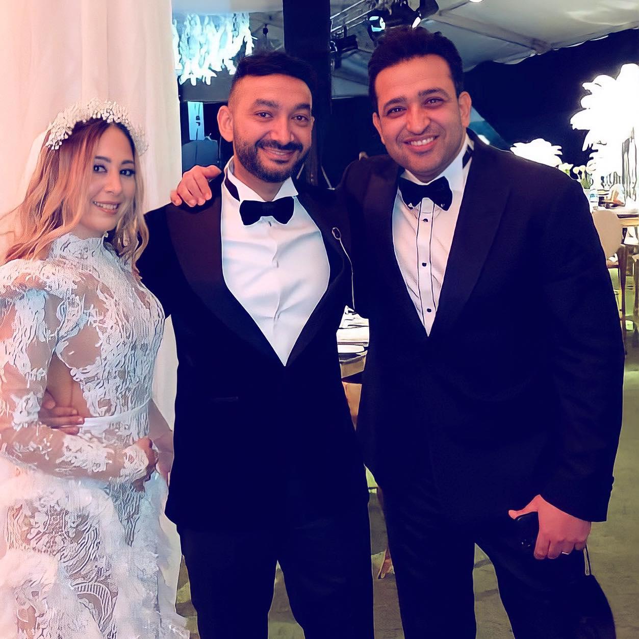 حفل زفاف نادر حمدي و سارة حسني