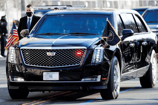 سيارة الرئيس بايدن