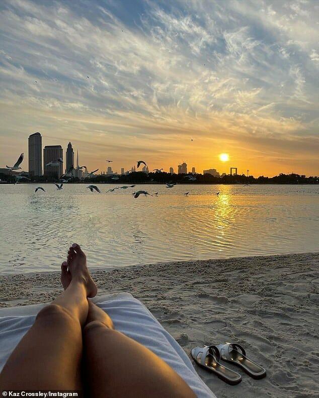 كاز كروسلي في دبي